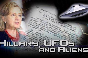 hillary aliens