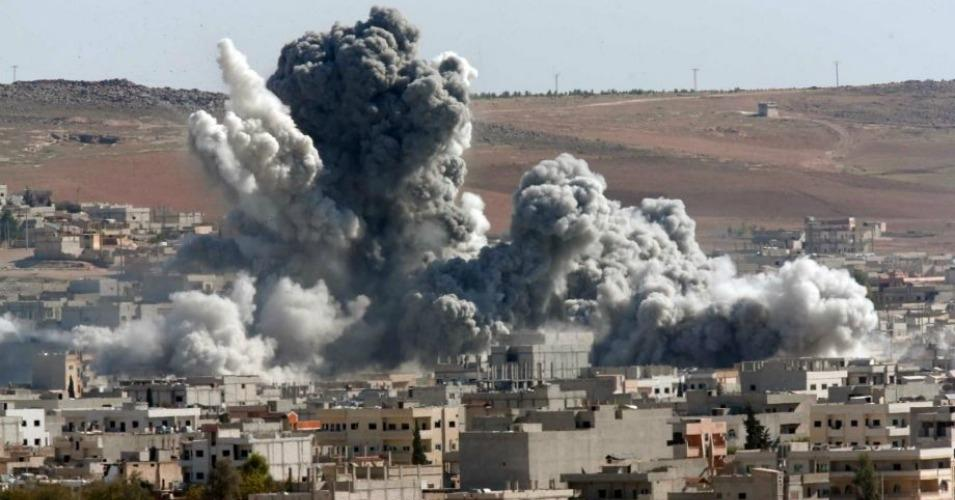 """As Terror Attacks Hit Home, U.S. Caught """"Bombing Syria to ..."""