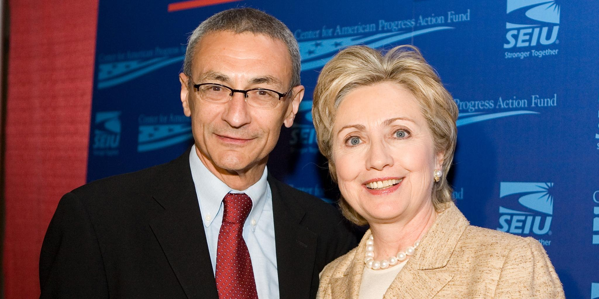 Image result for john podesta hillary clinton