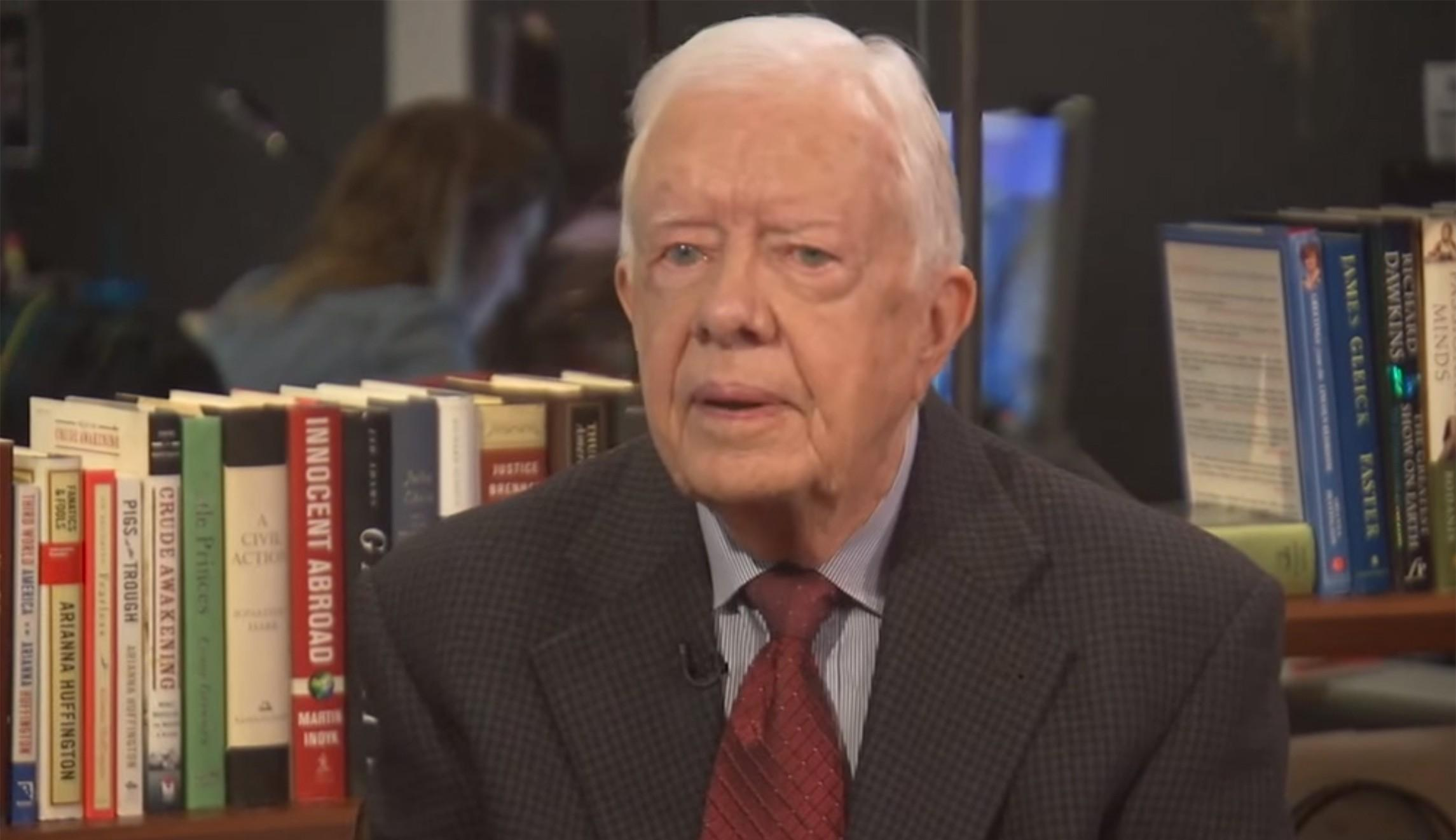 "Jimmy Carter: ""I believe that Jesus would approve of 'Gay ..."