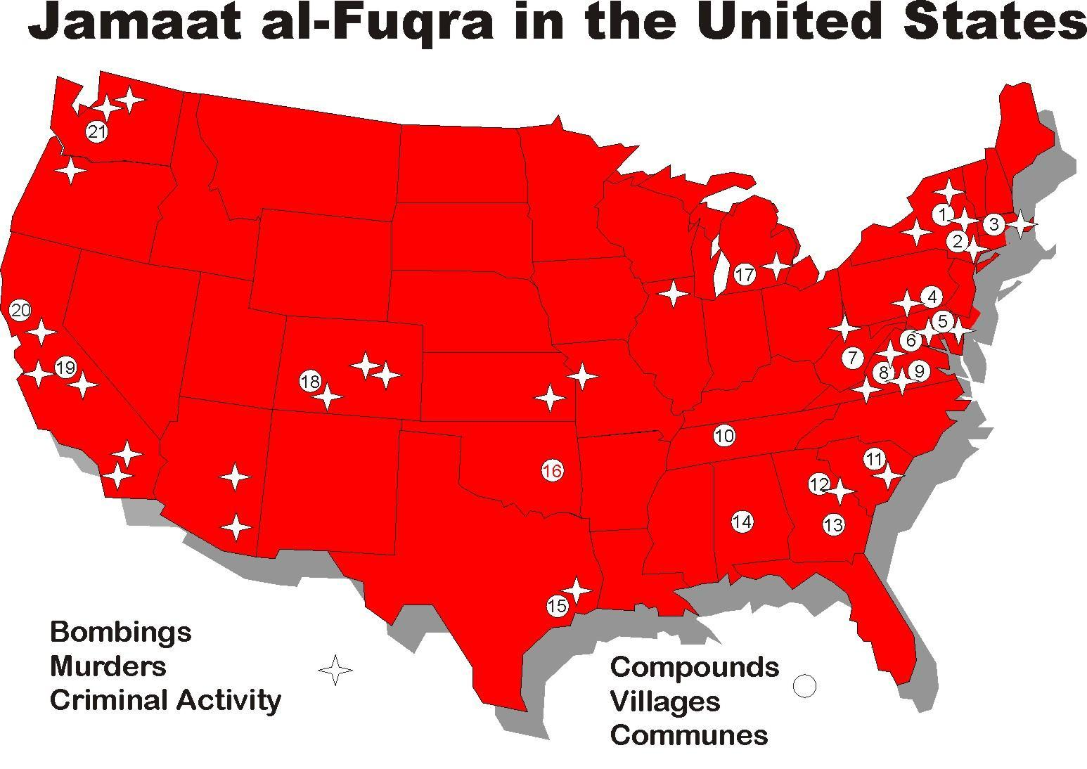 While Media Focuses On New Mexico Jihad Camp, There Are At Least 22 ...