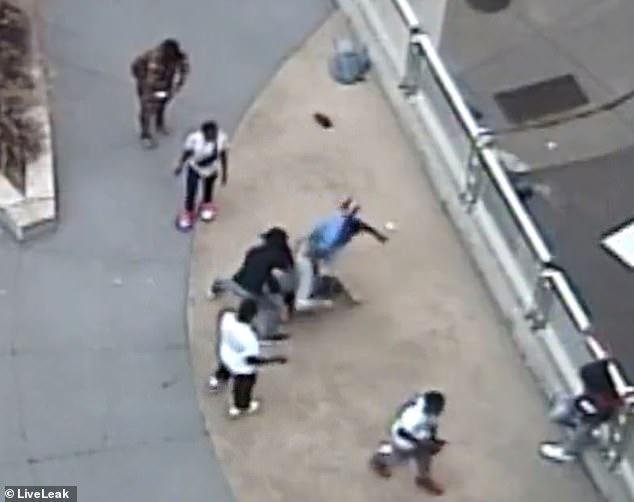 Media Blackout – Minnesota: Gang Violently Beats Man During Robbery (Video)
