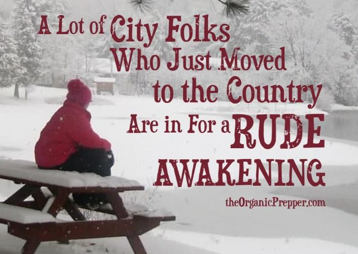 A Lot of City Folks Who Just Moved to the Country Are in for a Rude Awakening - The Washington Standard